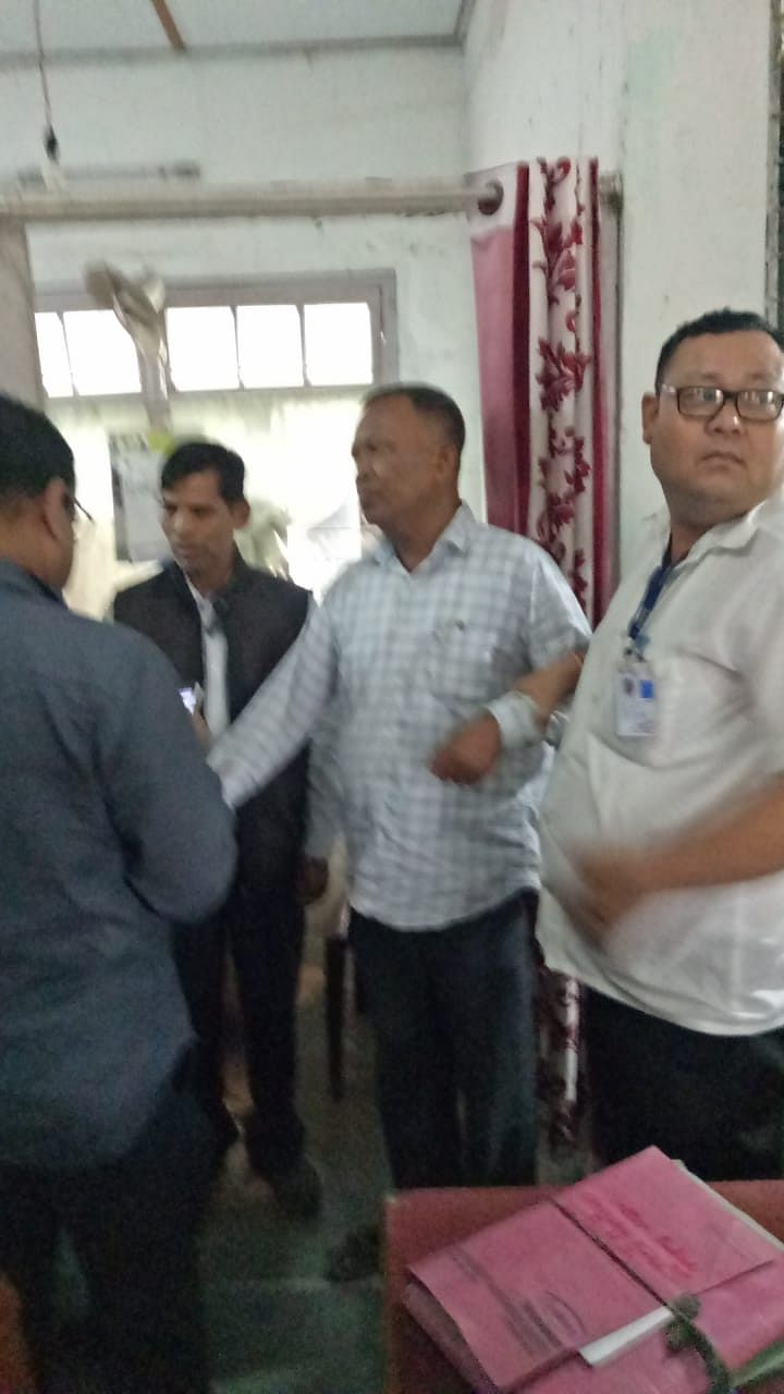 Om Prakash Agarwal sustained two bullet injuries in his stomach; he succumbed to his injuries at Assam Medical College and Hospital in Dibrugarh