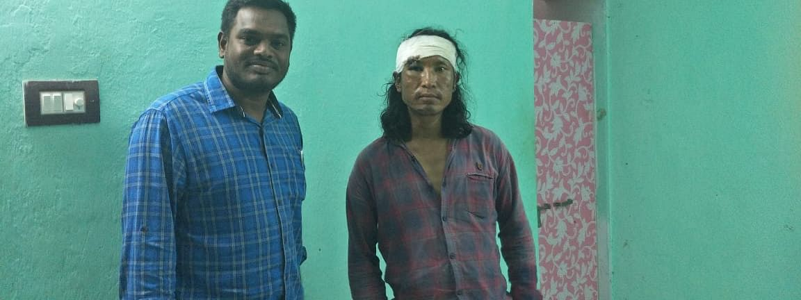 Manipur wrestling official H Ngaopunii Lanah (right), who went missing on train, was found in Andhra Pradesh on Friday