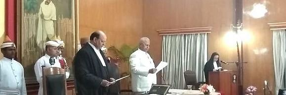 Mohammad Rafiq sworn in as chief justice of Meghalaya High Court