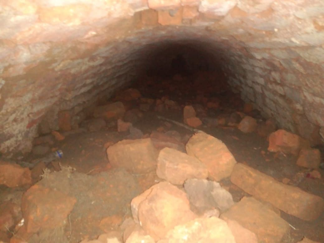 Assam: 'Ahom-era' tunnel discovered near Nazira in Sivasagar