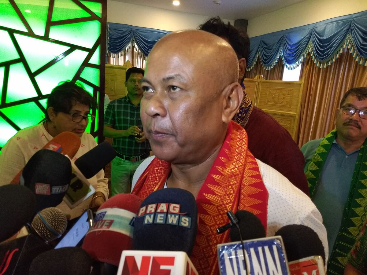 Assam: BTC supremo Hagrama Mohilary lashes out at MP's 'BTAD Sena'