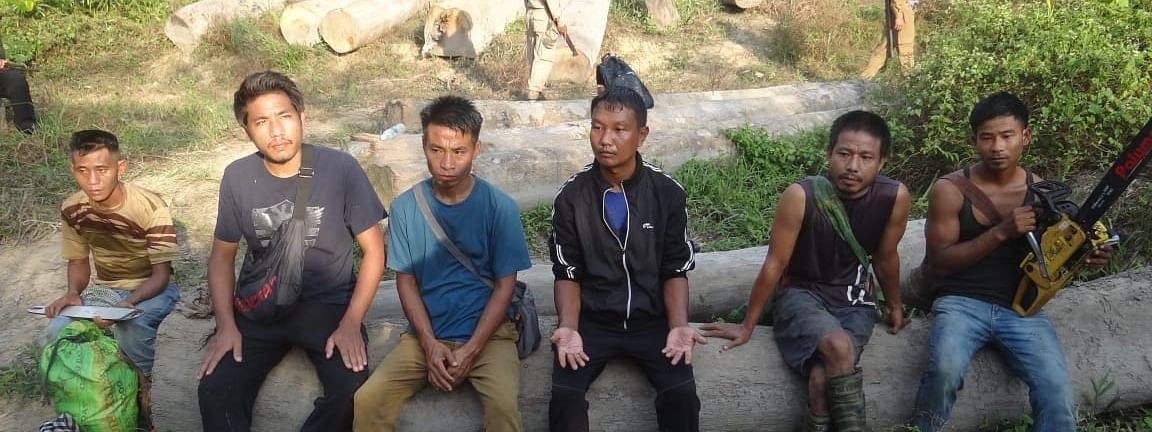 The accused were arrested from the Assam-Nagaland border