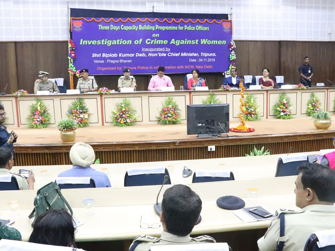 Crime against women down 8%, conviction rate up 39%: Tripura CM