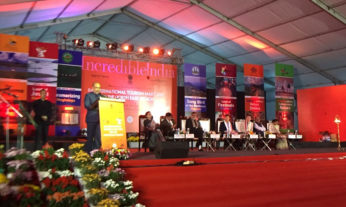 Manipur: 8th edition of International Tourism Mart opens in Imphal
