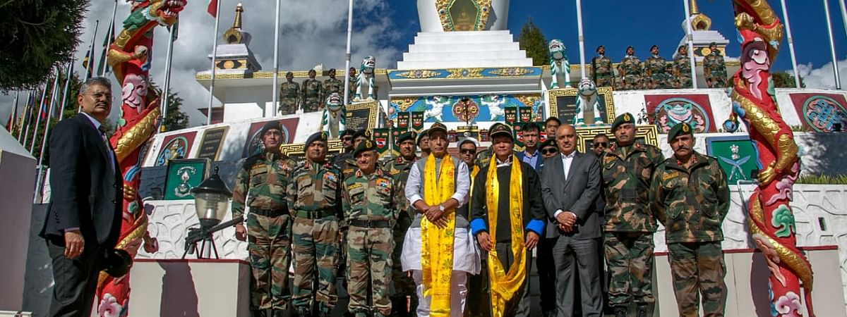 Union defence minister Rajnath Singh declared open 11th Maitree Diwas along China border in Tawang on Thursday