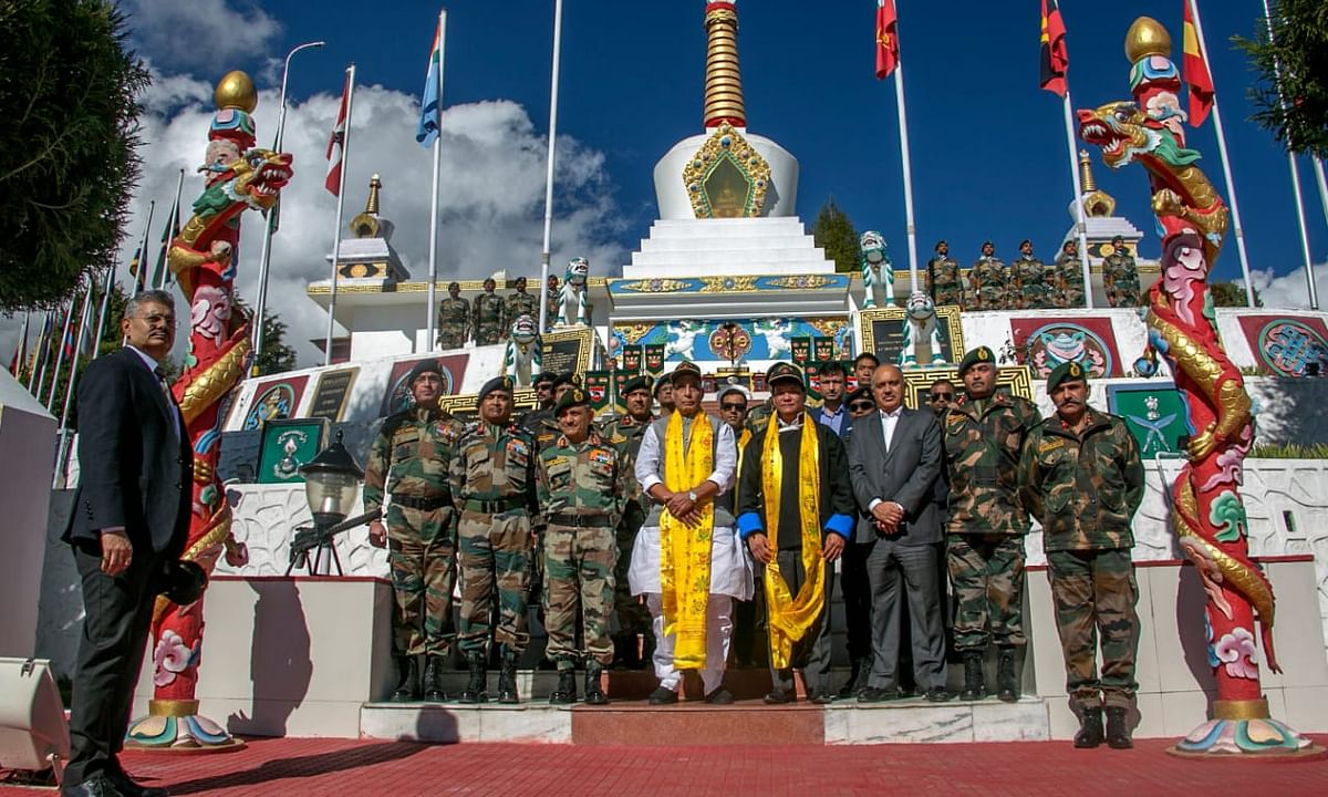 People in border areas 'strategic assets': Rajnath Singh in Tawang