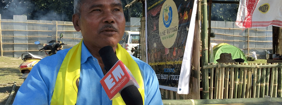 Jadav Payeng was invited as a guest to the music festival which tries to bring into consideration the importance of bio-diversity conservation and banning of single use plastics through music