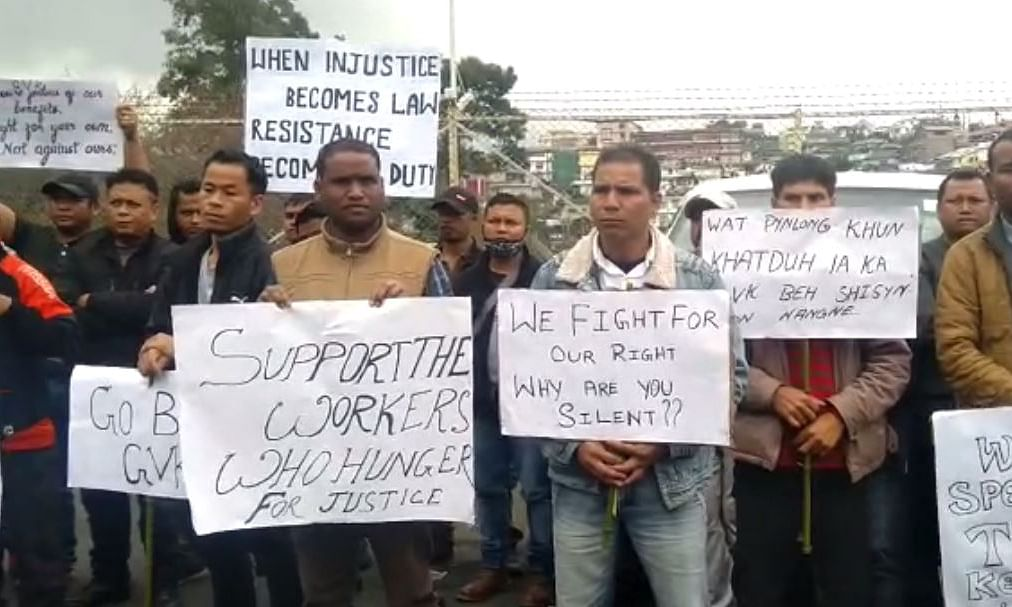Meghalaya: 41 days later, '108' workers call off hunger strike