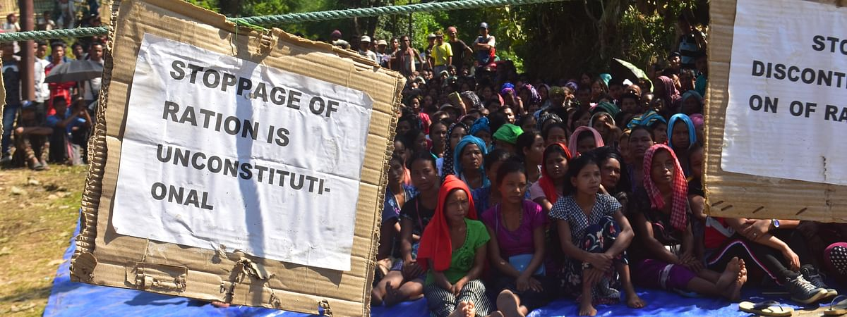 The Brus have been on a sit-in protest and road blockade since October 31