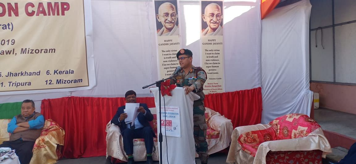 In his address, Commanding Officer, 46 Assam Rifles Col Biplav Tripathi called upon youth to join Army as their career