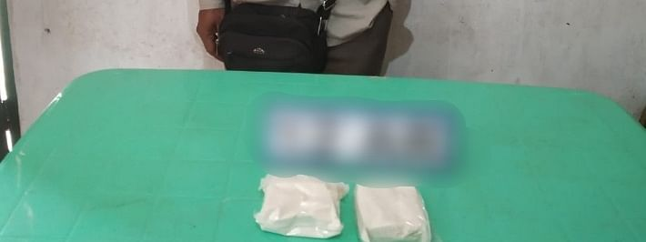 An individual, identified as Laikhogou from Churachandpur, was arrested after he was found carrying drugs in Manipur's Tengnoupal district