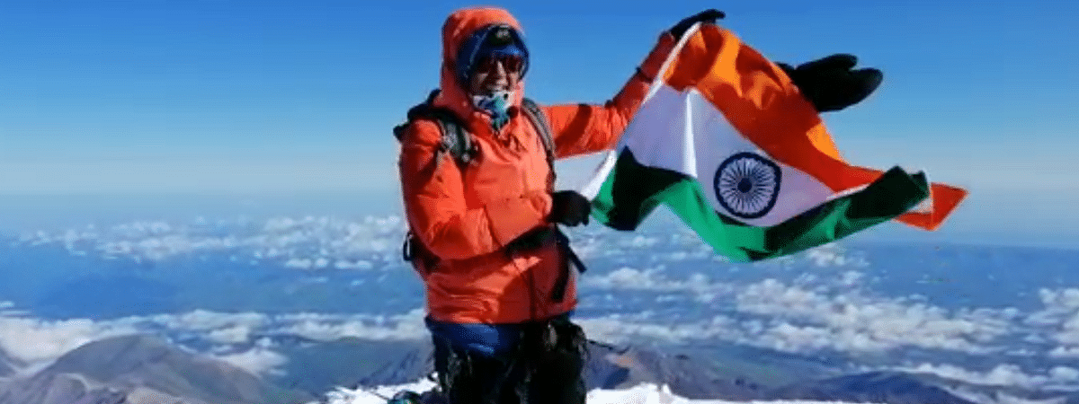 Dr Chetna Joshi has recently scaled Mount Elbrus, the highest mountain peak in Europe