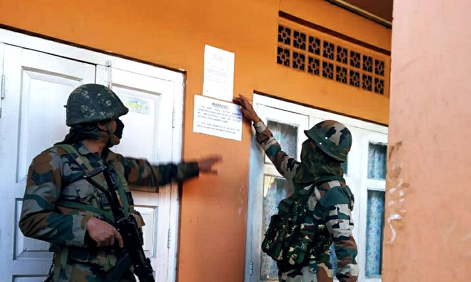 Nagaland: NSCN-IM 'unauthorised' camps closed down in Kohima