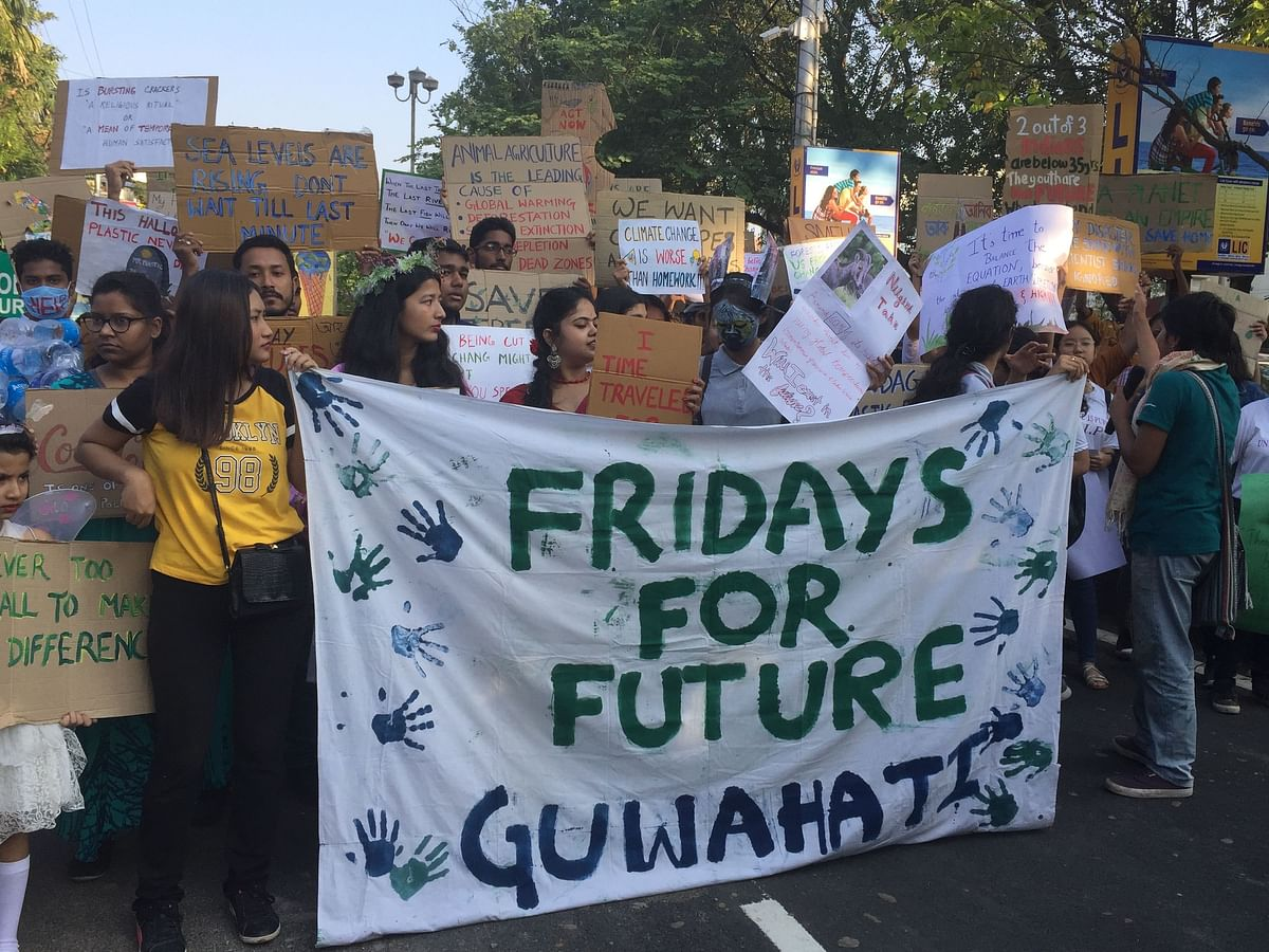 Fridays for Future: Guwahati takes on global climate change