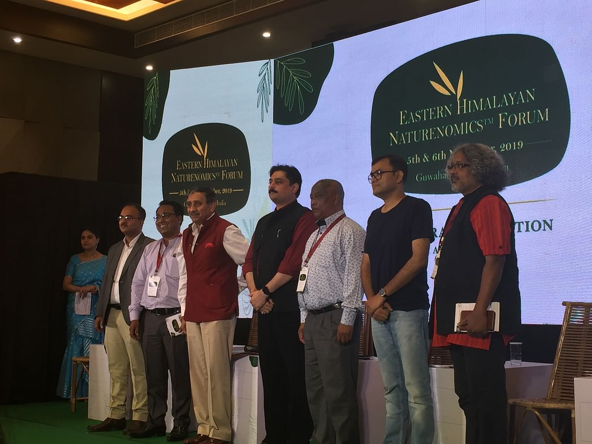 Some of the eminent personalities who were present at Eastern Himalayan Naturenomics Forum 2019