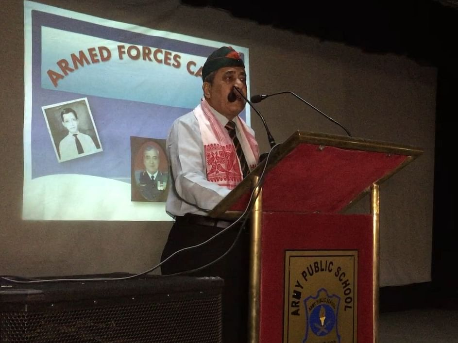 How this Assam retd Army officer is inspiring youth to join forces