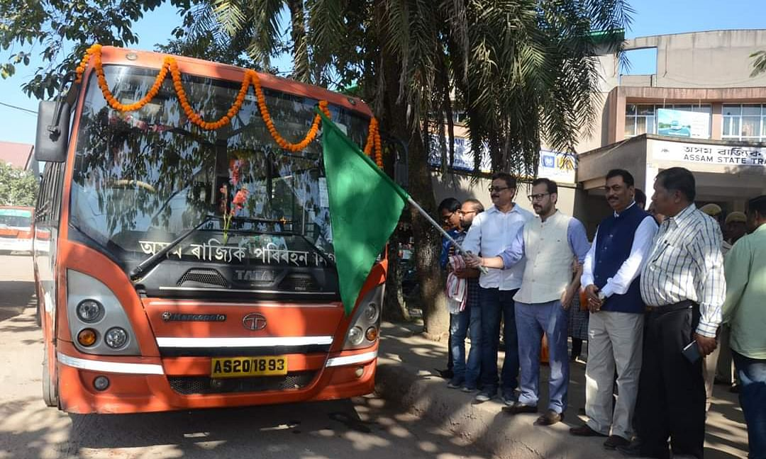 Assam: First CNG bus of state flagged off in Dibrugarh