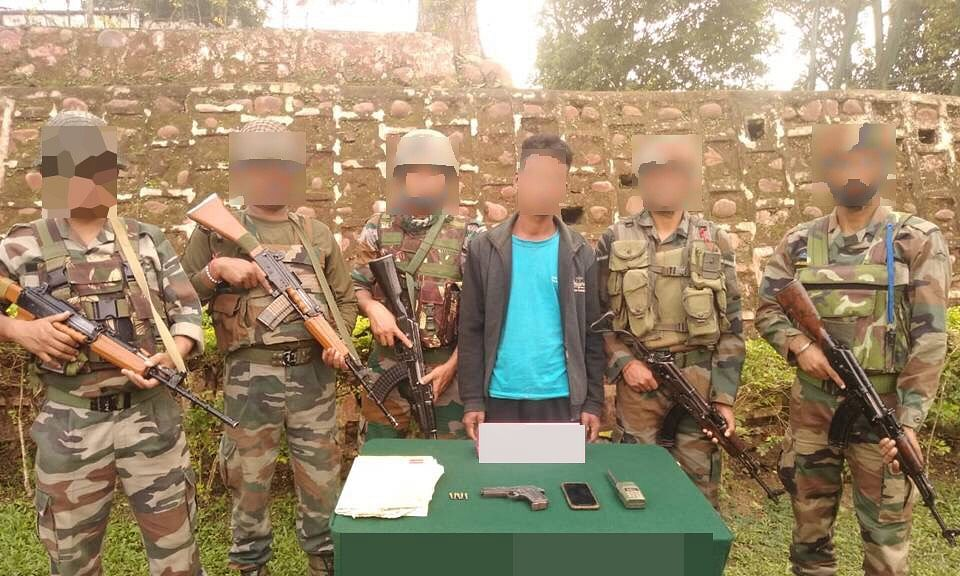 Nagaland: ULFA-I militant held in Mon district, arms recovered