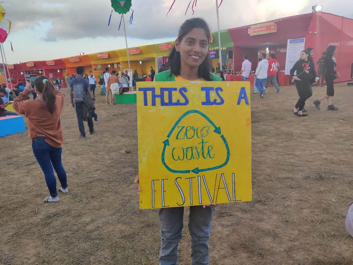 NH7 Weekender promotes a zero-waste policy