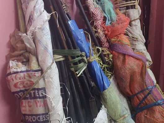 40 'weapons' seized, turn out to be decorative items for Hornbill