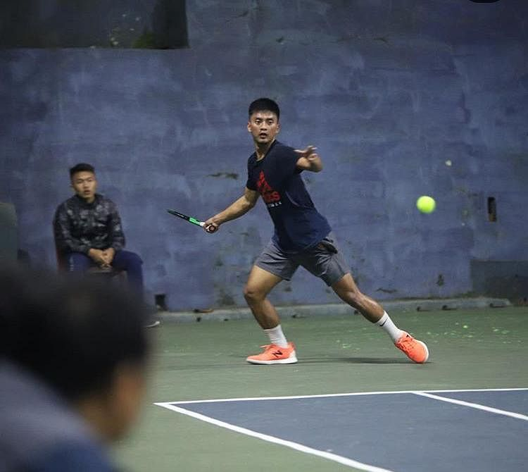 Lalhmachhuana currently holds the No. 1 title in the Mizoram Men's Singles
