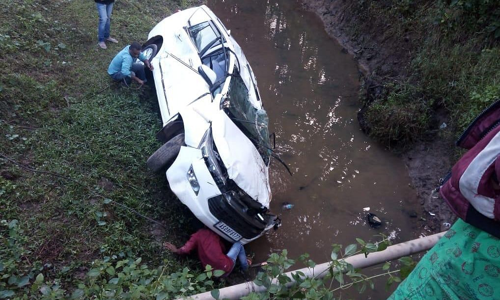 Assam minister's convoy meets with accident, PSO killed on spot