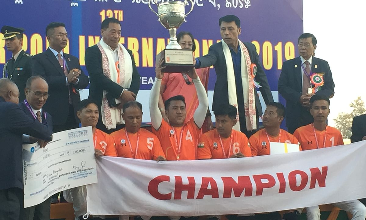 13th Manipur Polo International Tournament 2019: Hosts lift title