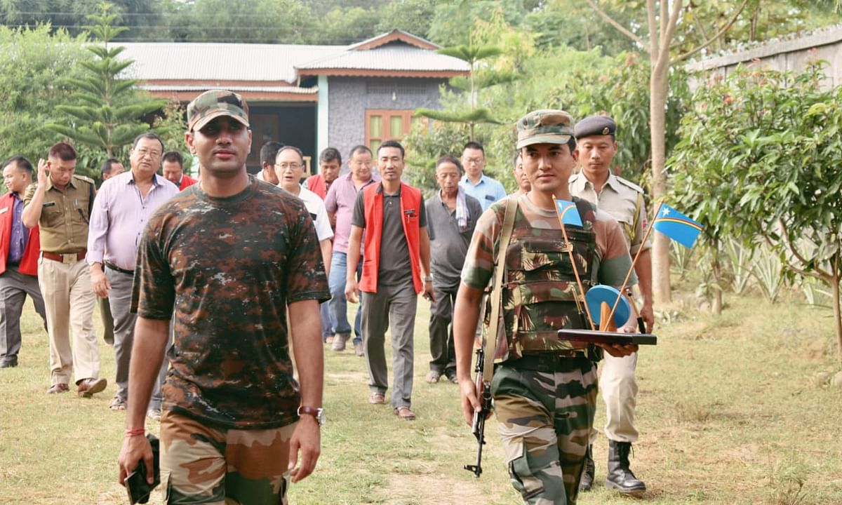 Nagaland: NSCN-IM's unauthorised 'messes' closed down in Peren