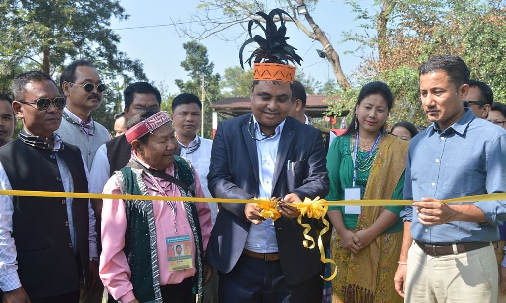 Meghalaya: 100 Drums Wangala Festival gets underway near Tura