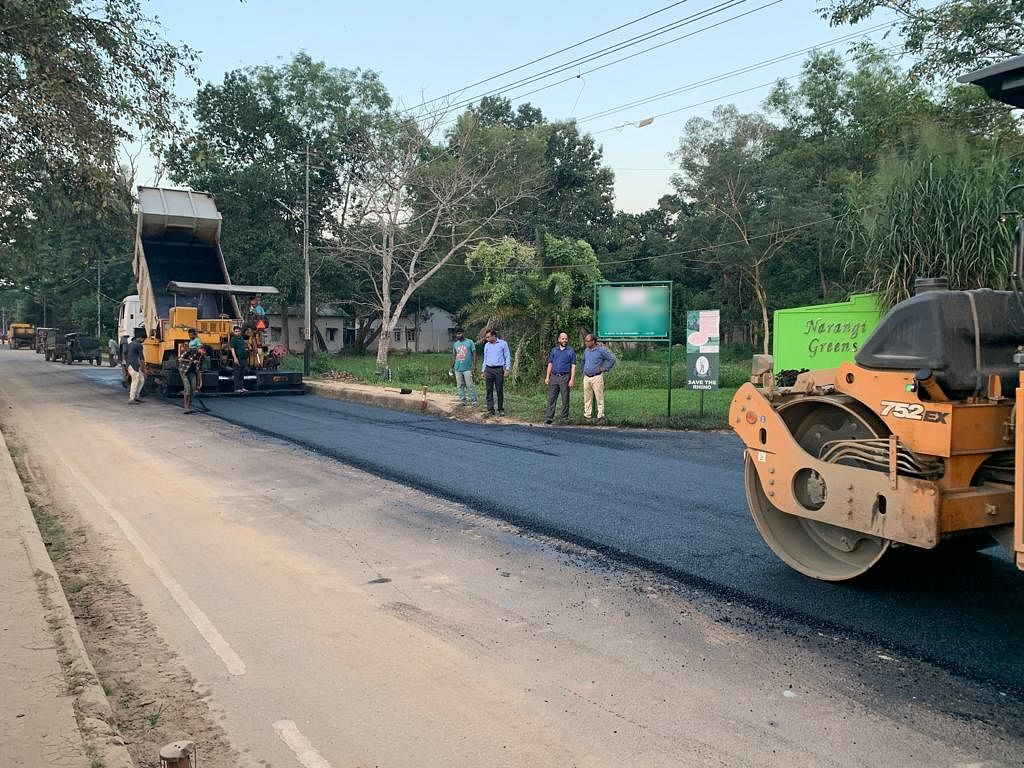 After Goalpara, Guwahati gets its first road made of plastic waste