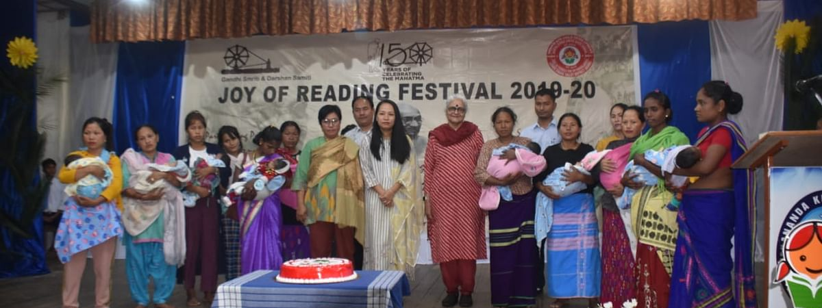 Participants and organisers of Joy of Reading Festival 2019-20