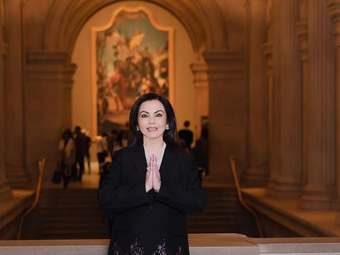 Nita Ambani named 1st Indian trustee of Metropolitan Museum of Art