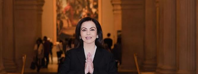 Nita Ambani has been named as an honorary trustee of The Met, New York City in the US