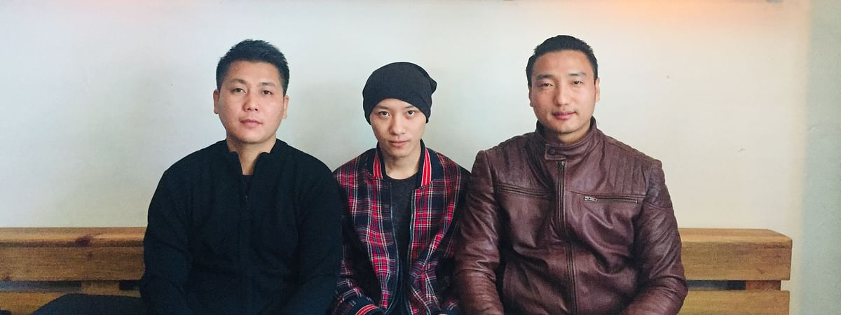 The three young Naga entrepreneurs who founded Tribal Vision in 2014