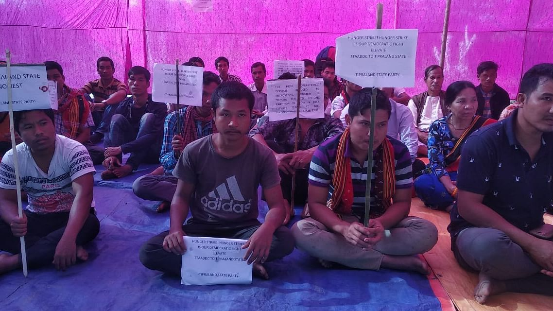 Tripura: Indigenous party stages hunger strike, demands statehood