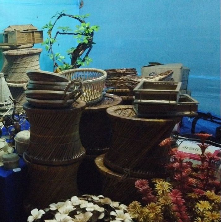 Handicraft items helped local business communities to generate revenue at the festival venue