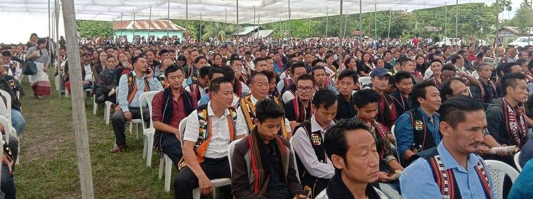 Both the Naga tribes resolved to strengthen the relationship existing among them