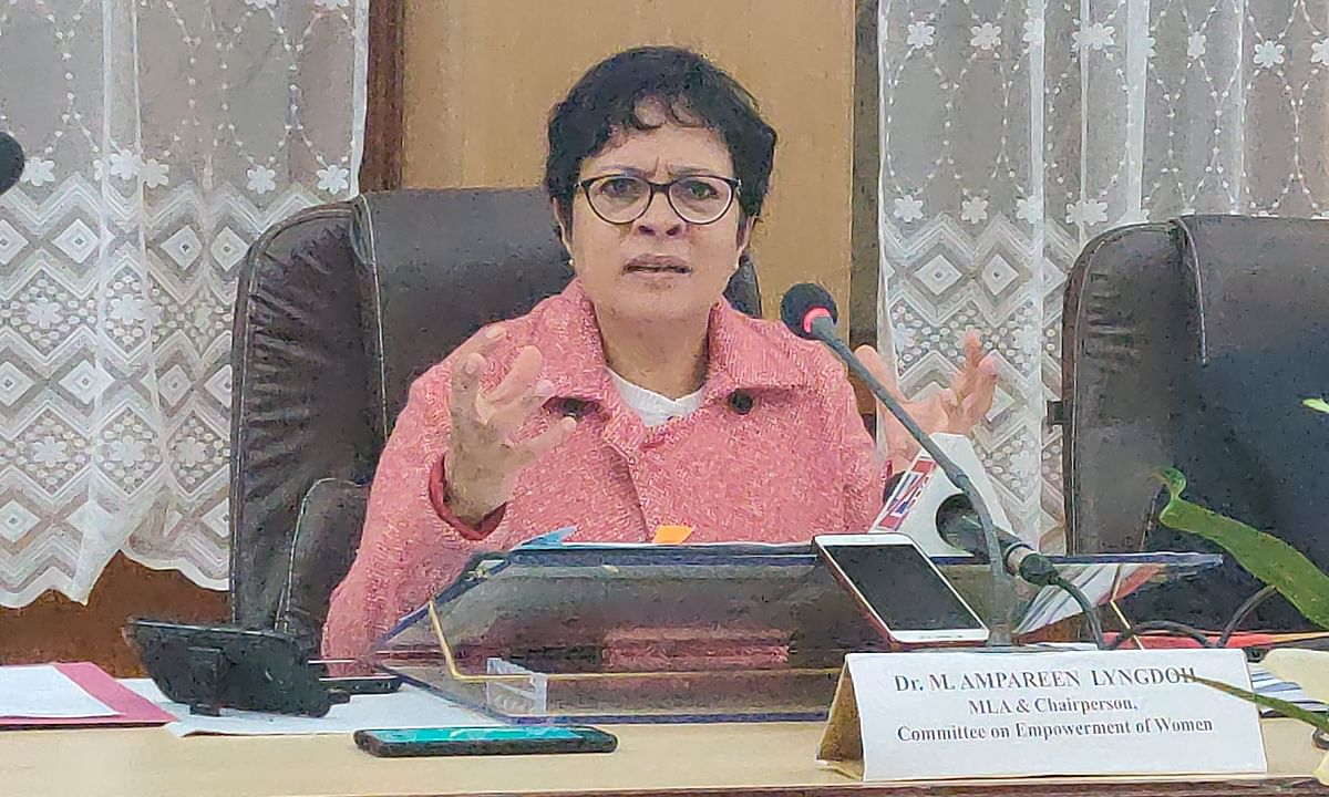 Senior Congress leader M Ampareen Lyngdoh raises concern over alarming numbers in maternal deaths