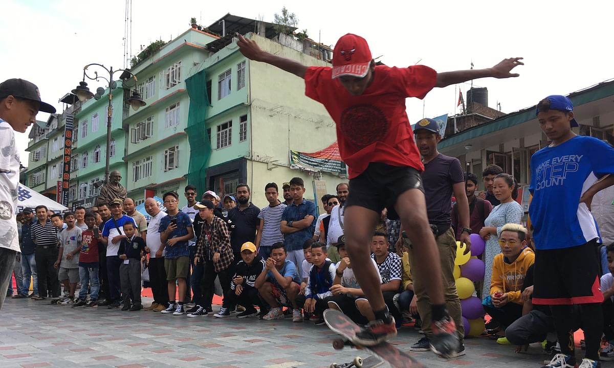 Skateboarding gaining ground, giving new 'high' to youth in Sikkim