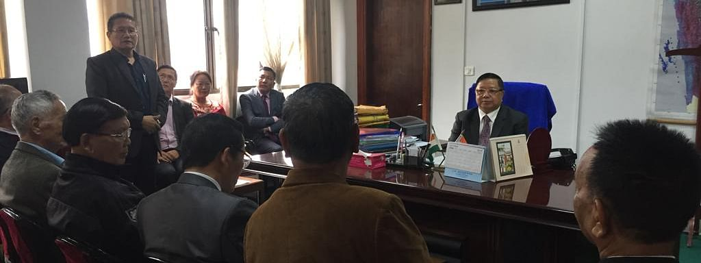Mizoram health minister Dr R Lalthangliana called a meeting with church leaders to discuss campaign plans on HIV/AIDS awareness in the state on Monday