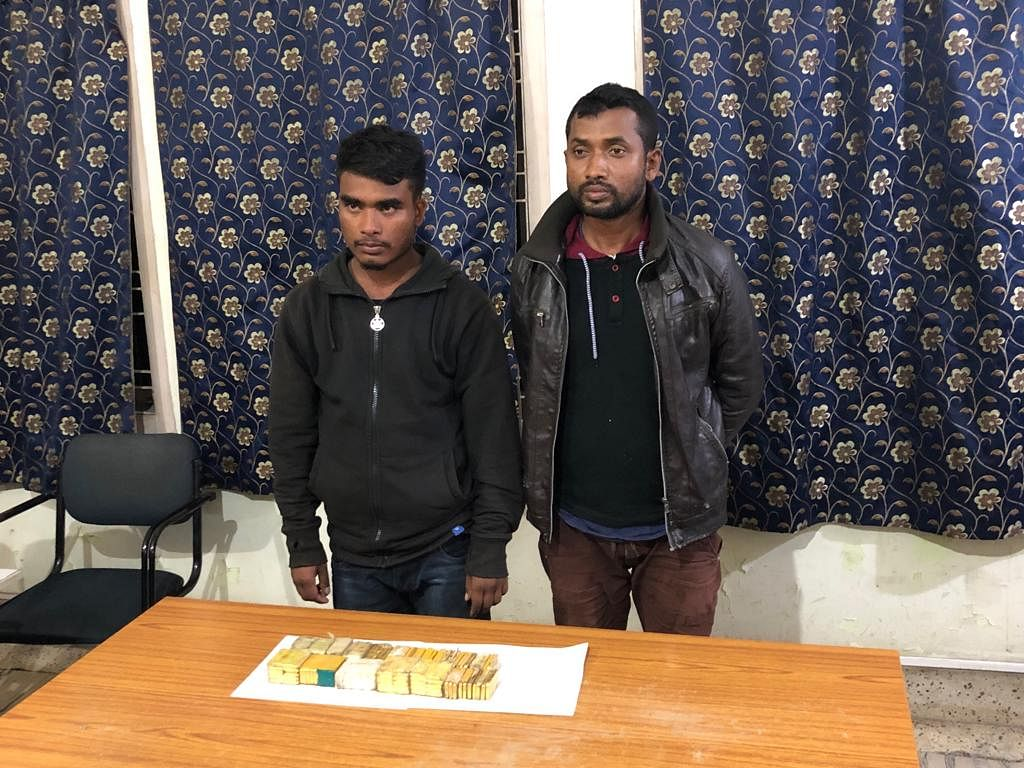 The suspected NDFB rebel, Santosh Brahma, was nabbed by the Assam Police team of Baksa district led by officer-in-charge of Baganpara police outpost, Lalchandra Ali