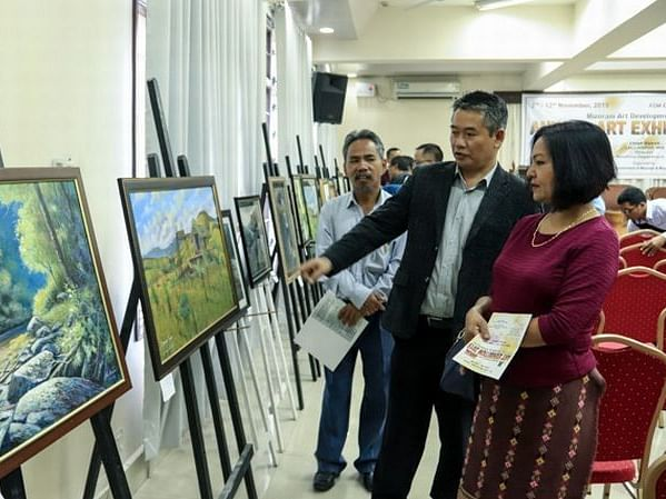 Mizoram: 7-day annual art exhibition gets underway in Aizawl