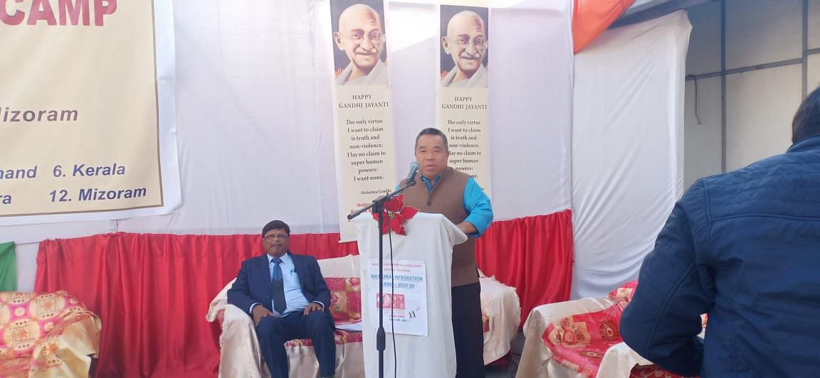 Mizoram minister Robert Romawia Royte inaugurated the event on Monday