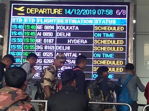 AAI officials take special care of stranded passengers