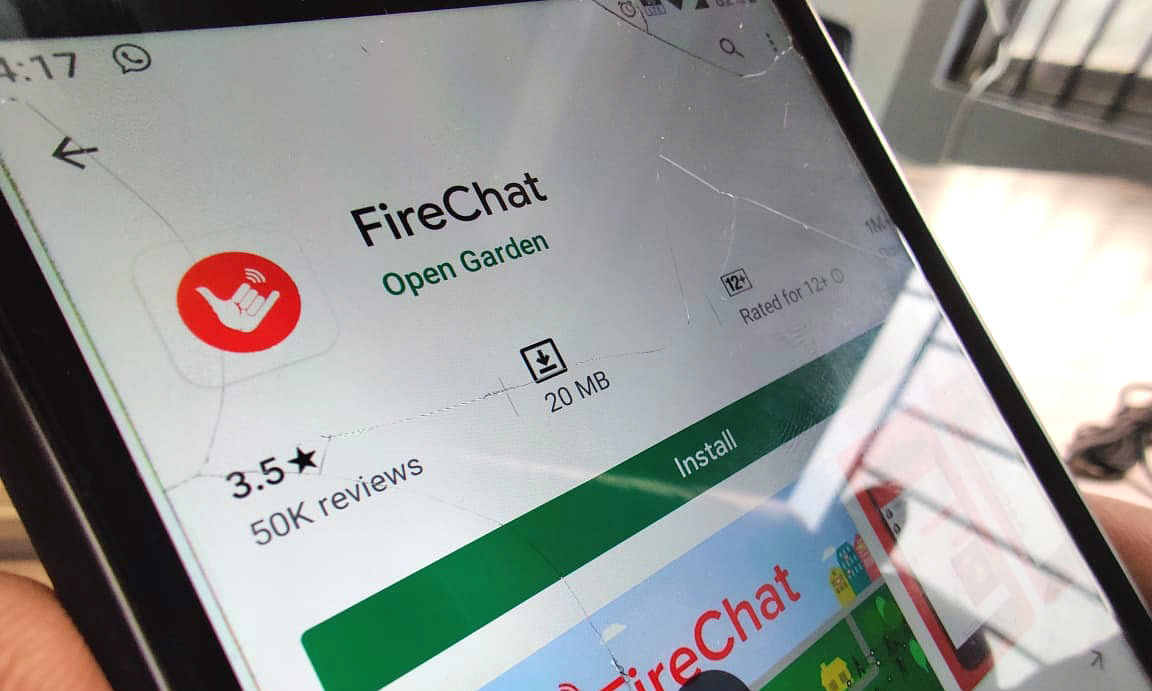 FireChat: How this smartphone app is fuelling Hong Kong protests