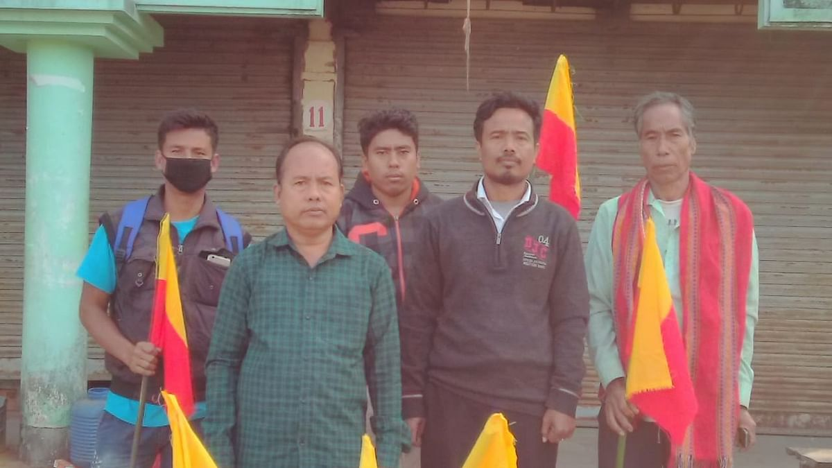 Tripura parties stage demonstration against Centre move on CAB