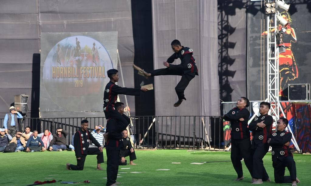 Amid cultural shows, Naga Kiti Silat wows spectators at Hornbill