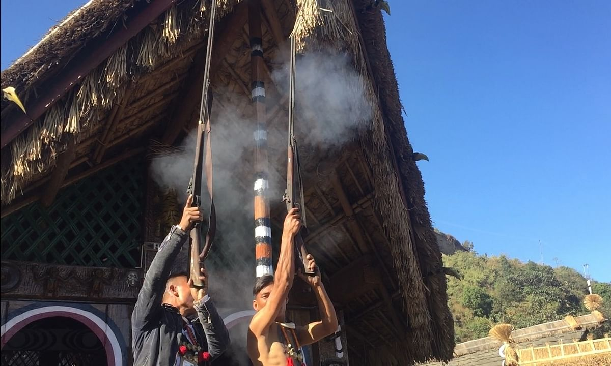 Why Nagas fire muzzle-loading guns during festivities