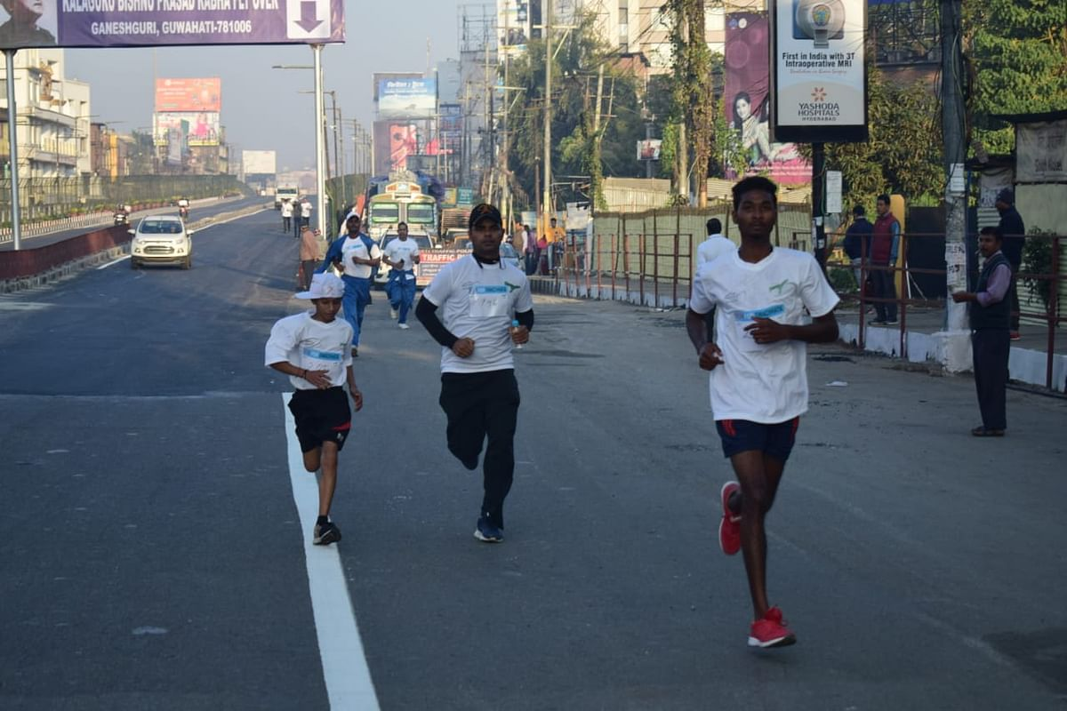 It was the third edition of the marathon