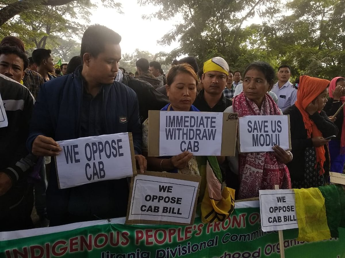 Tripura indigenous parties intensify stir against Citizenship Bill